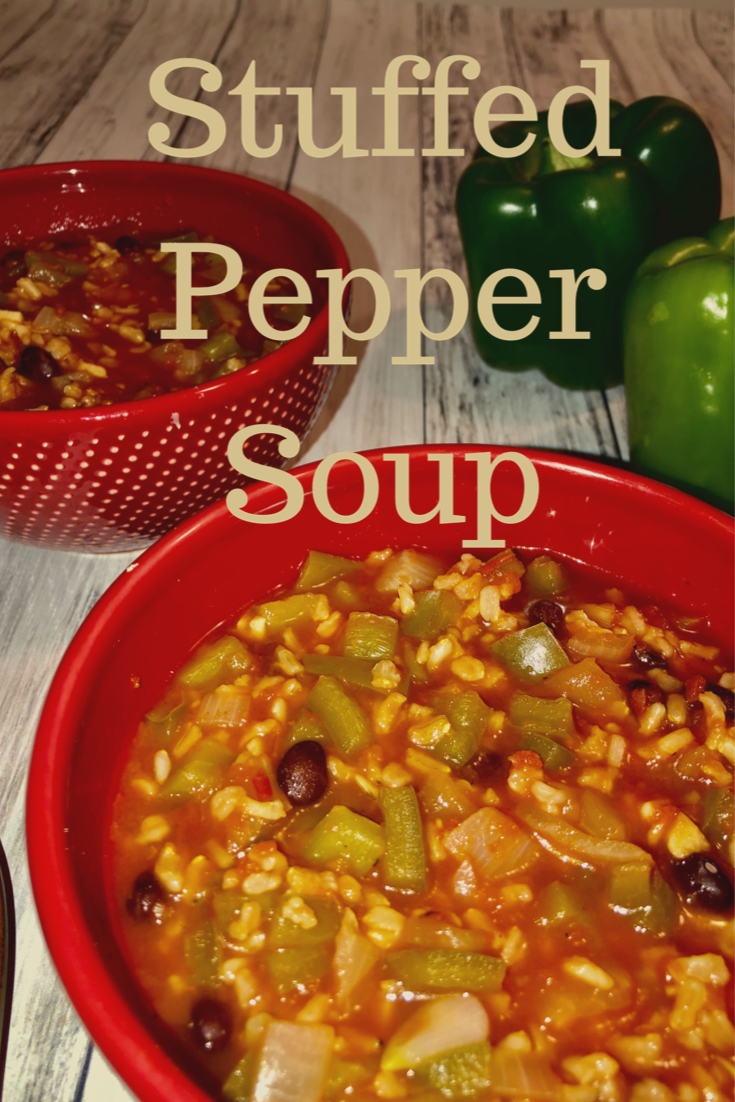 Stuffed Pepper Soup Hoorah To Health Recipe In 2020 Stuffed Pepper Soup Stuffed Peppers Recipes For Soups And Stews