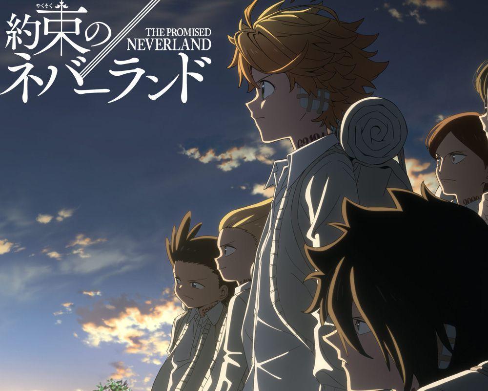 The Promised Neverland season 2 anime poster.