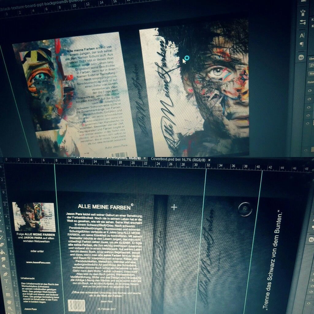 Photoshop Workout, Buchcover und Schutzumschlag Design by Jason Para, # Photoshop Workout, Buchcover und Schutzumschlag Design by Jason Para