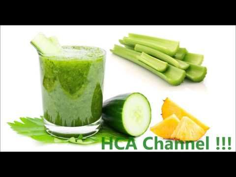 jugos verdes para aplanar el vientre
