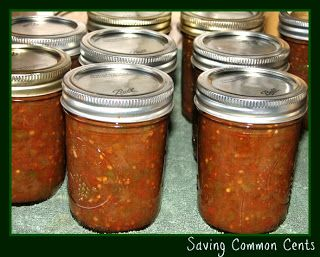 Canning with relish!