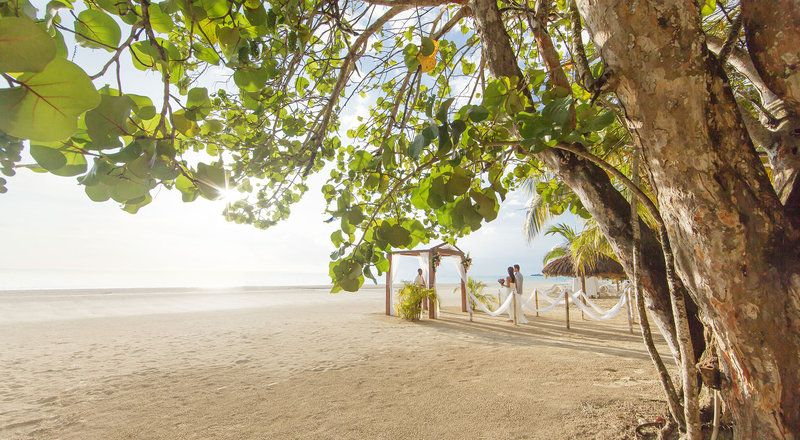 We Love This Private Beach Location For A Destination Wedding Ceremony At S Swept Away In Negril Jamaica