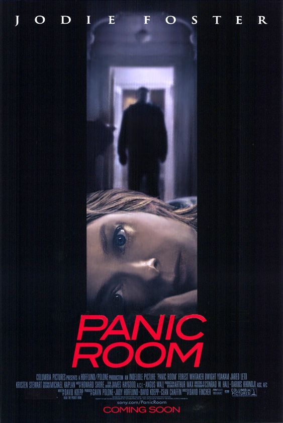 PANIC ROOM  // Amer. thriller by David Fincher, 2002.