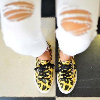 89cd17348 amorshoes-superga-2750-lona-leopardo | Superga | Pinterest | Tiendas ...