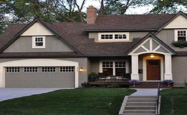 Gray Exterior Home Colors Outside House Paint Exterior Paint