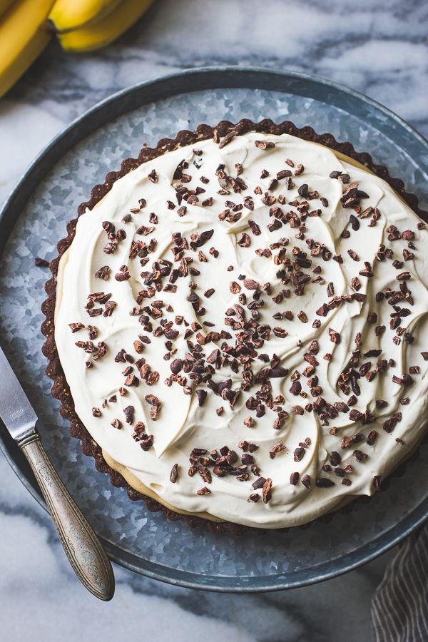 In This Gluten Free Riff On Banana Cream Pie An Easy Cocoa