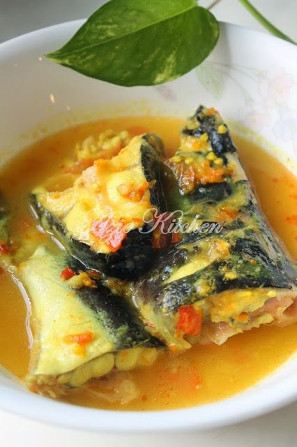 Azie Kitchen Masak Tempoyak Ikan Patin Buah Malaysian Food Malay Food Asian Recipes