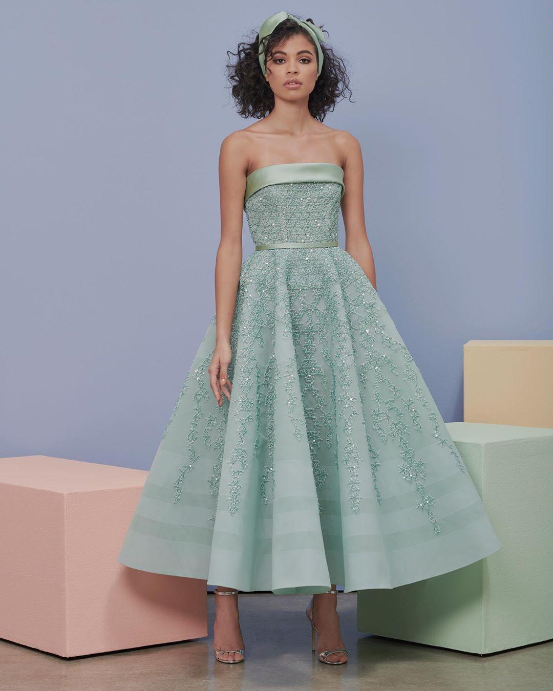 Rami Al Ali Official On Instagram Rami Al Ali Proudly Presents The Spring Summer 2020 Pret A Porter Collect Fashion Design Dress Types Of Dresses Rami Al Ali