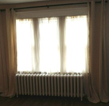 Where To Hang Curtain Rod With Craftsman Trim Trim Casing Redo Drapes Curtains Linen