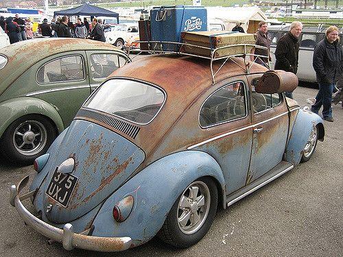 Retro Rat Look Beetle Vw Volkswagen Rat Look Beetle