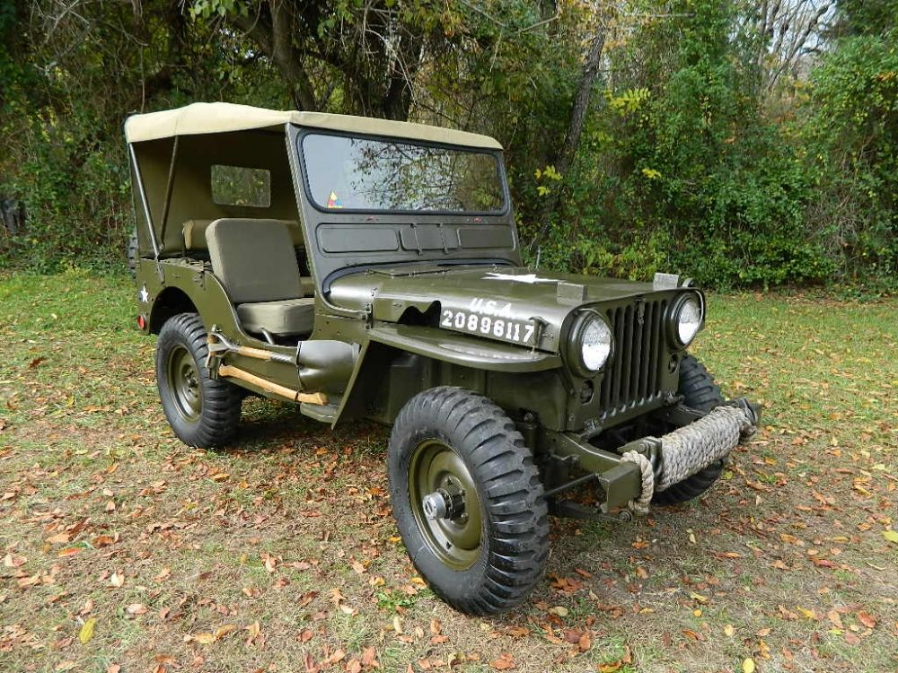 1951 Jeep Willys Overland M38 Military Jeep For Sale In 2020