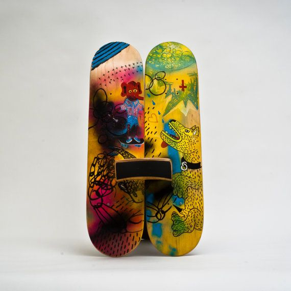 Sitflip The DIY Series Skateboard Art Triptych by Sitflip