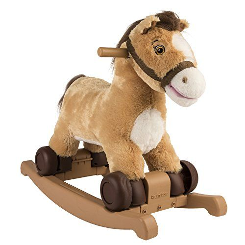 Rockin' Rider Charger 2-in-1 Pony Ride-On  http://www.bestdealstoys.com/rockin-rider-charger-2-in-1-pony-ride-on/