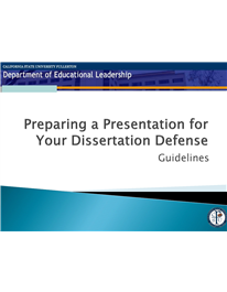 Preparing A Powerpoint For Your Dissertation Defense Motivation Thesi Writing How To Start Presentation