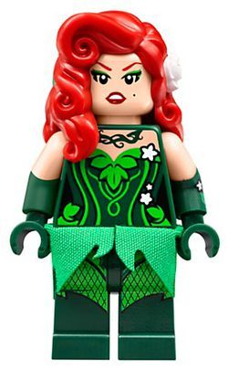 Baukästen & Konstruktion LEGO BATMAN MOVIE MINIFIGURE LEGO Minifiguren POISON IVY IN ARKHAM ASYLUM PRISON JUMPSUIT