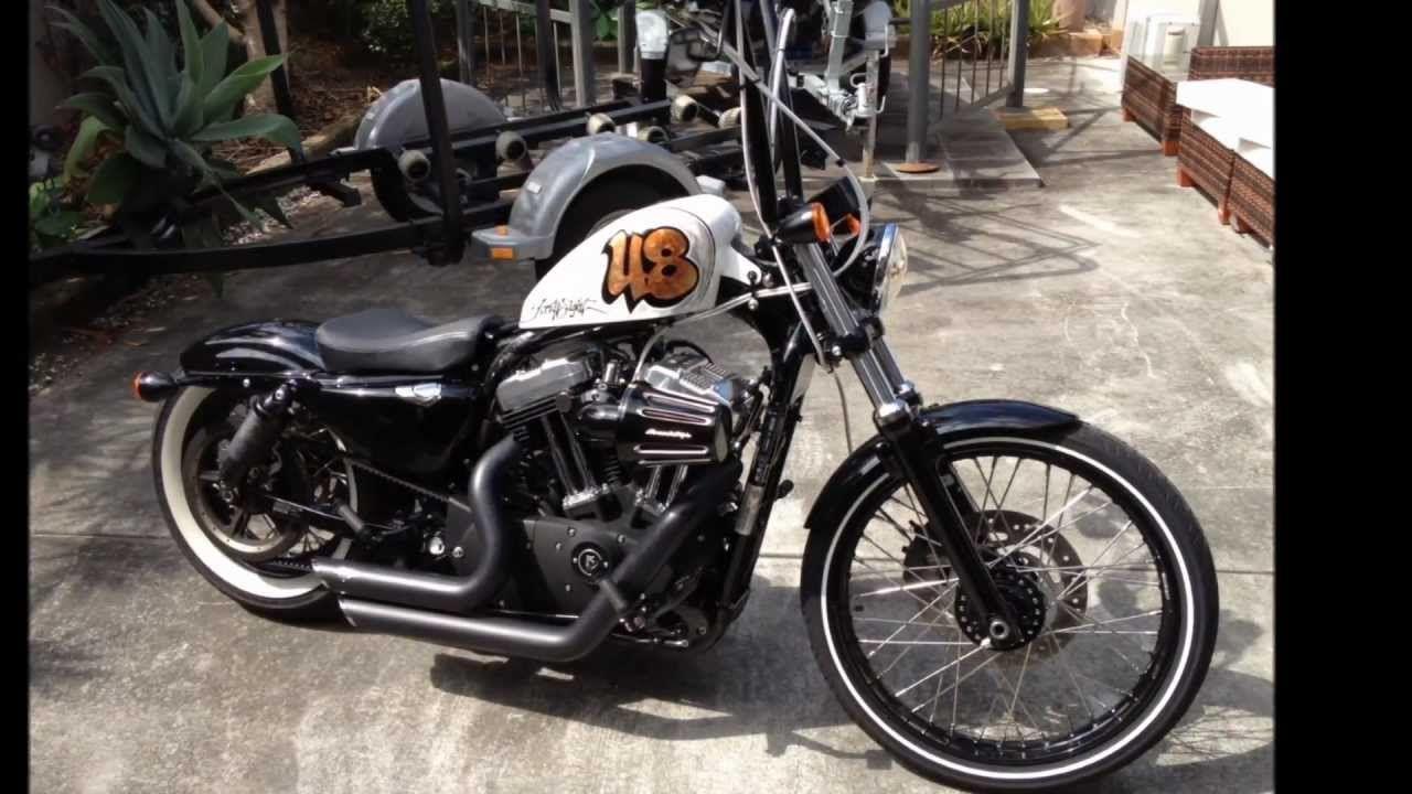 Harley Davidson Sportster 72 Bobber