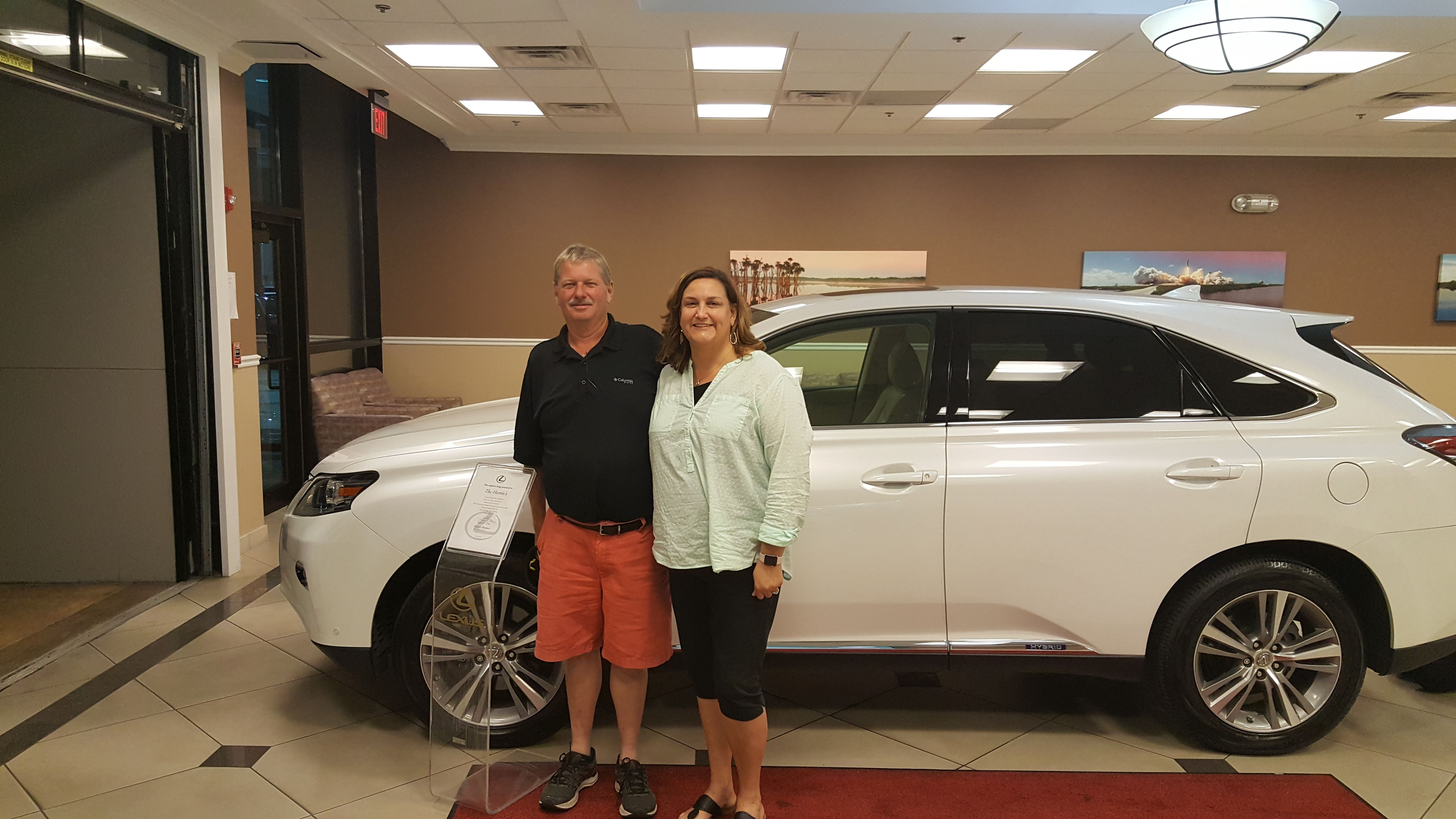 Congratulations To The Herrin Family Who Purchased Their New Lexus With Our Team Member Karen Fitts At Lexus Of Orang Orange Park Lexus Affordable Luxury