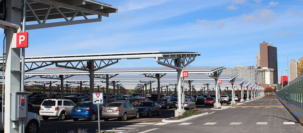 Solar Carport And Steel Frame Solar Canopies From RBI & Solar Carport And Steel Frame Solar Canopies From RBI | Solar ...