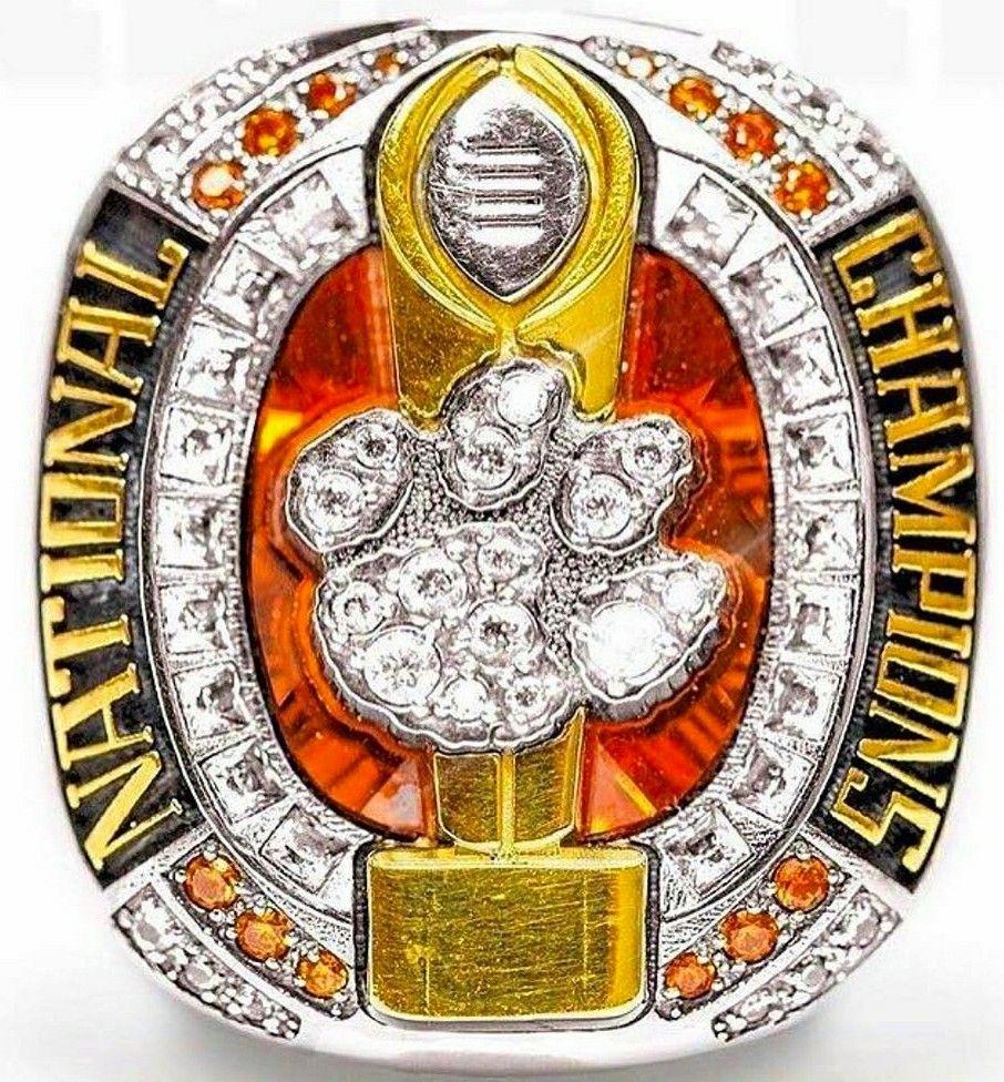 Clemson national championship ring for 2016 clemson