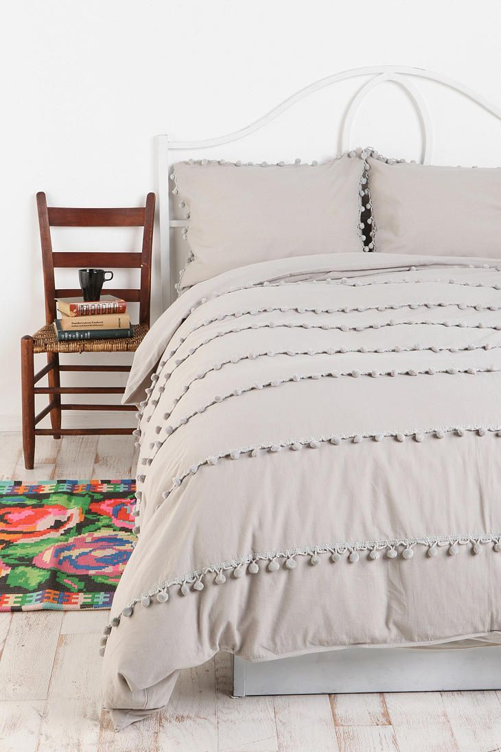 Buy Duvet Cover Purchased Ball Fringe Duvet Cover Now I Just Have To Buy