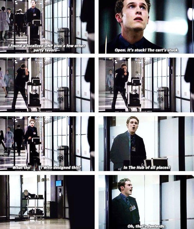 Haha did u know he improvised this scene!