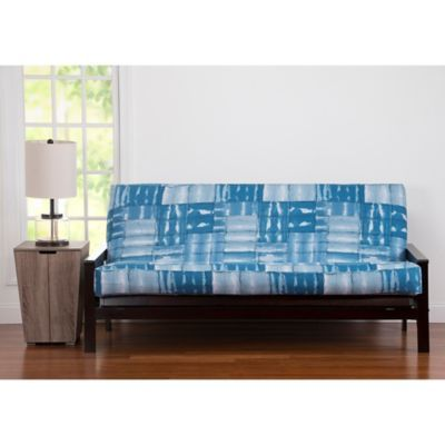 Pologear American Vintage Loveseat Futon Cover In Blue