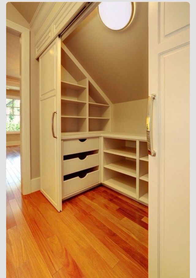 bonus room storage attic bedroom closet design pictures remodel decor and ideas page 9 - Home Interior Designideen Fr Kleines Haus