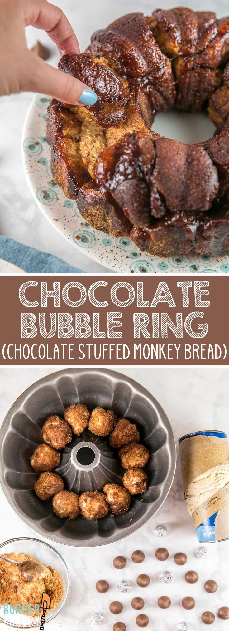 Chocolate Bubble Ring