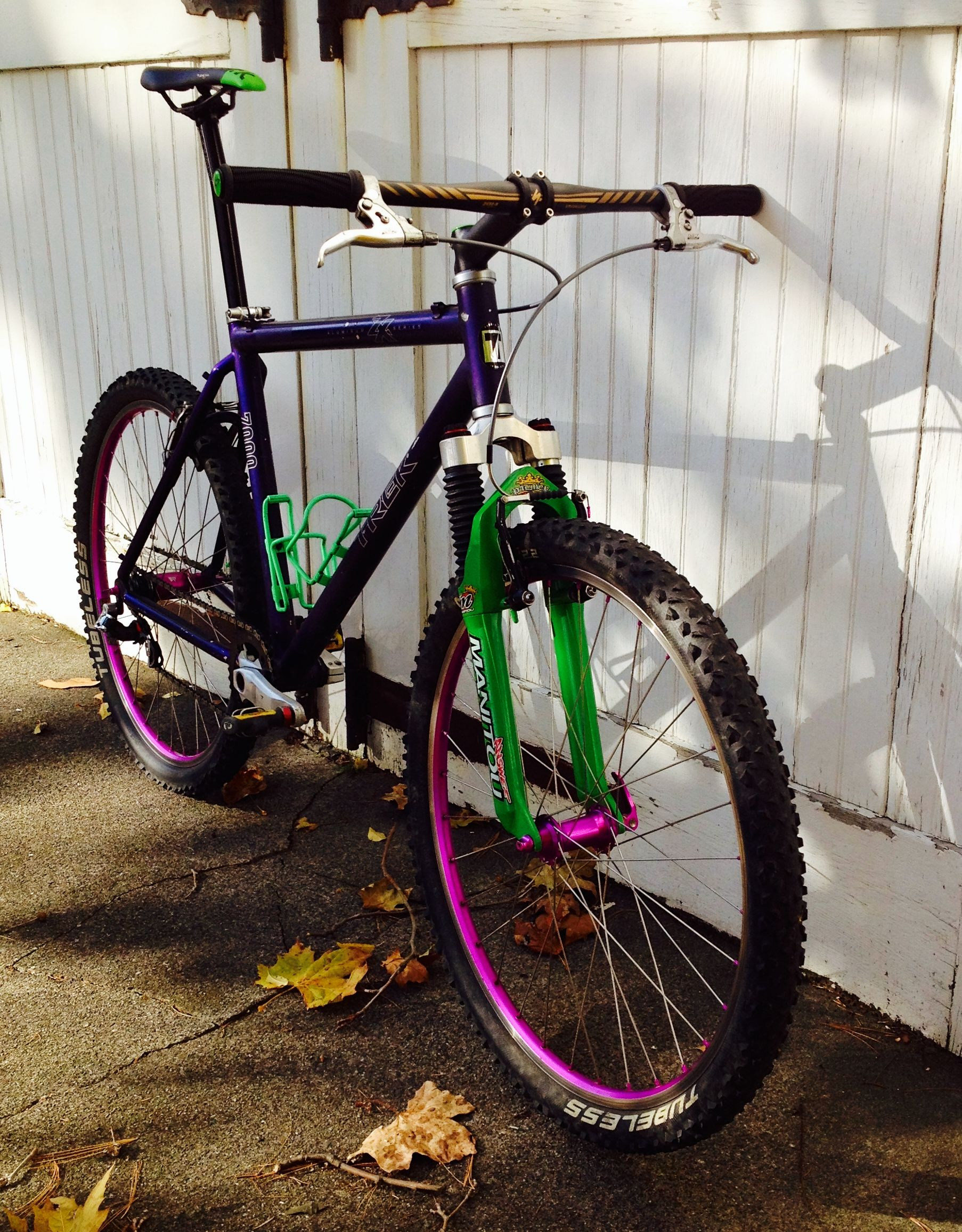 1995 Trek 7000 Singlespeed A Fun Project And The Revitalization Of A Classic Bmx Bicycle Mountain Biking Bicycle