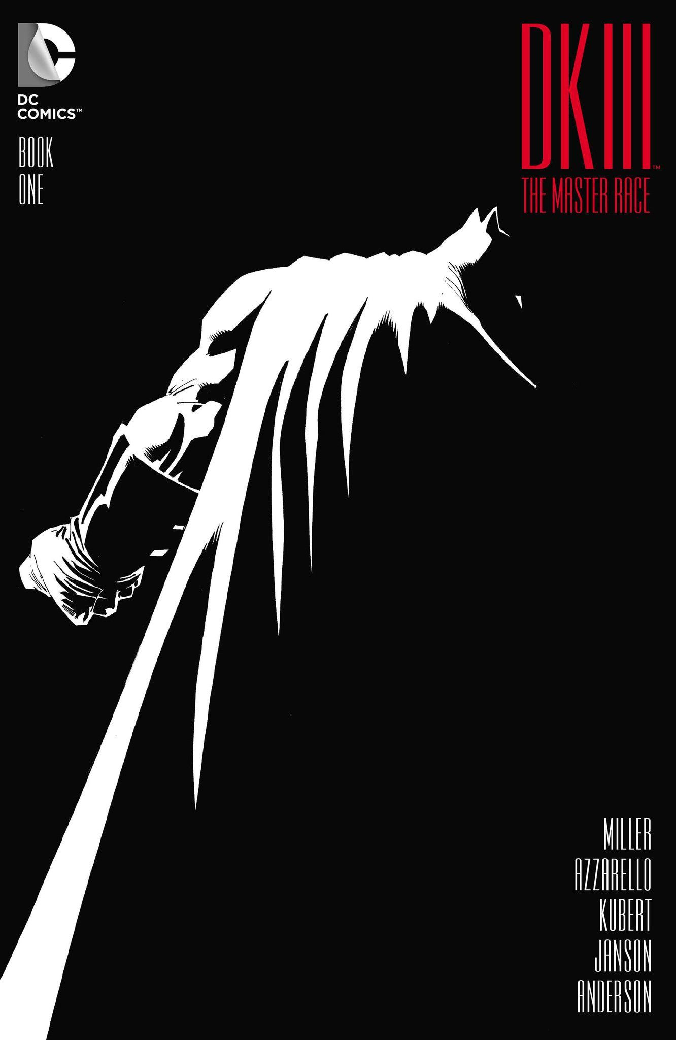 *High Grade* (W) Frank Miller, Brian Azzarello (A) Andy Kubert & Various (CA) Andy Kubert, Klaus Janson The epic ending you never saw coming is here because you demanded it! The Dark Knight rises agai