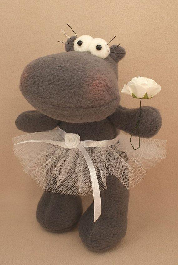 DIY Kit Rag doll Ballet dancer doll making supply Hippo Primitive ...