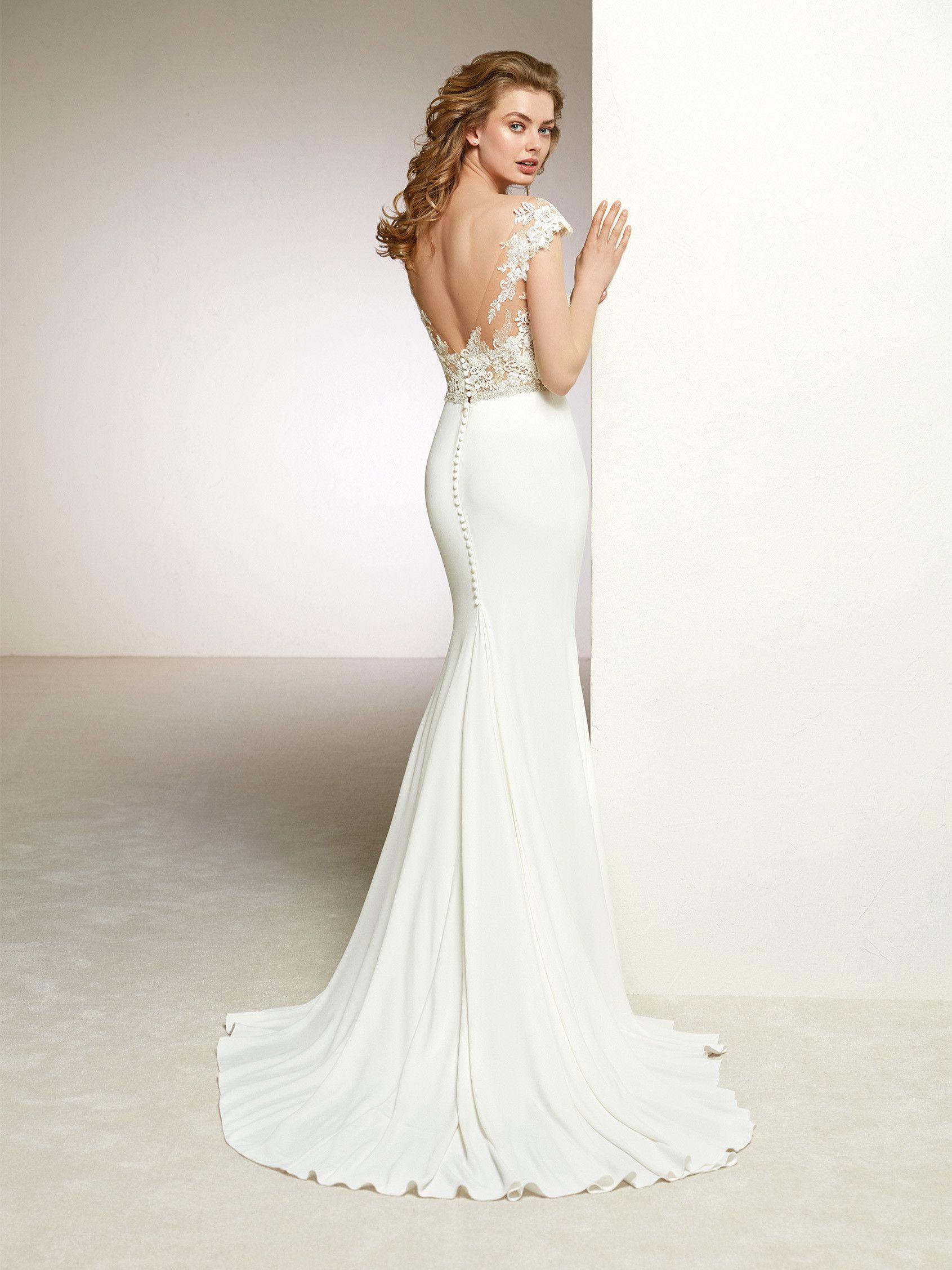 c70e98f7c7a4 Pronovias: Danka | Pronovias | Wedding dresses, Elegant wedding ...