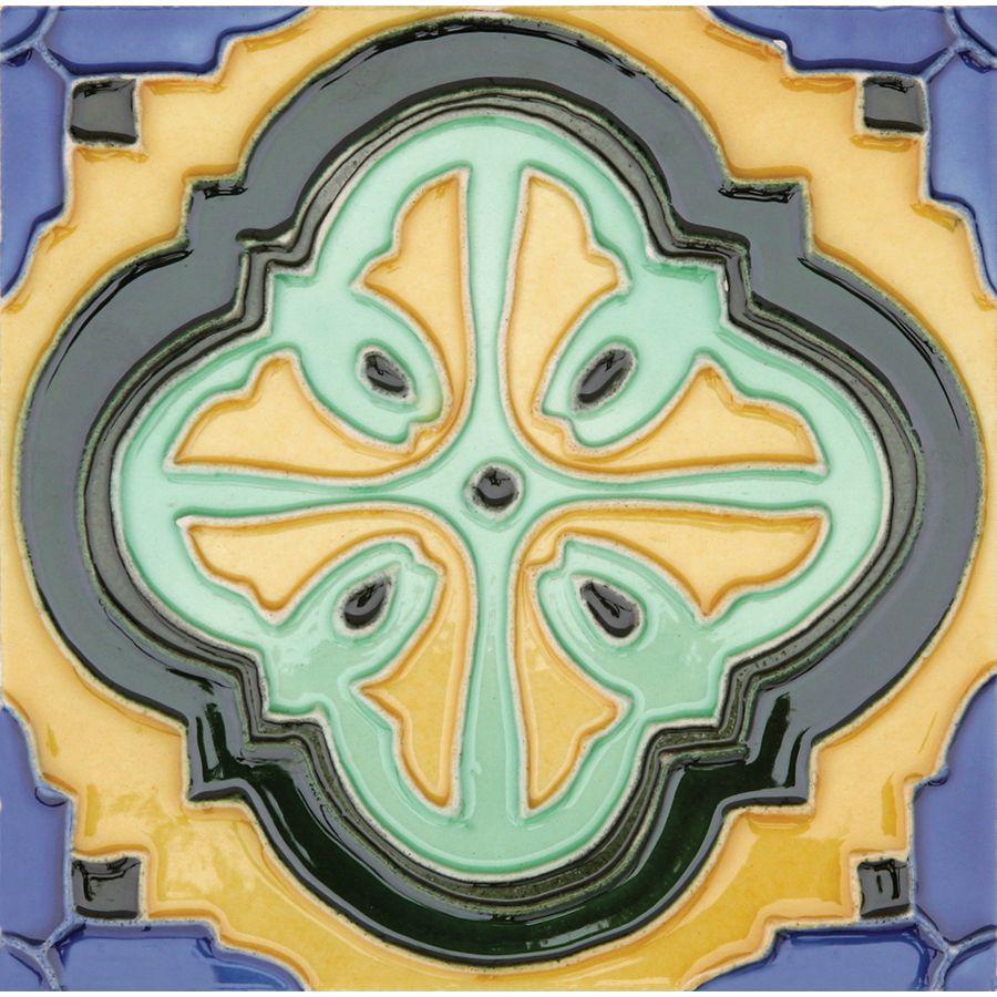 Shop Solistone 10-Pack Hand-Painted Ceramic Acapulco Glazed Ceramic ...