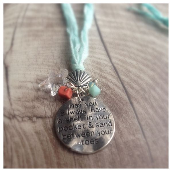 Kette *... a shell in your pocket...* crystallized von MermaidsJewellery auf DaWanda.com