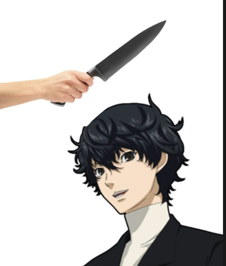 Come Back You P5 Protagonist Simp In 2020 Protagonist Akira Anime