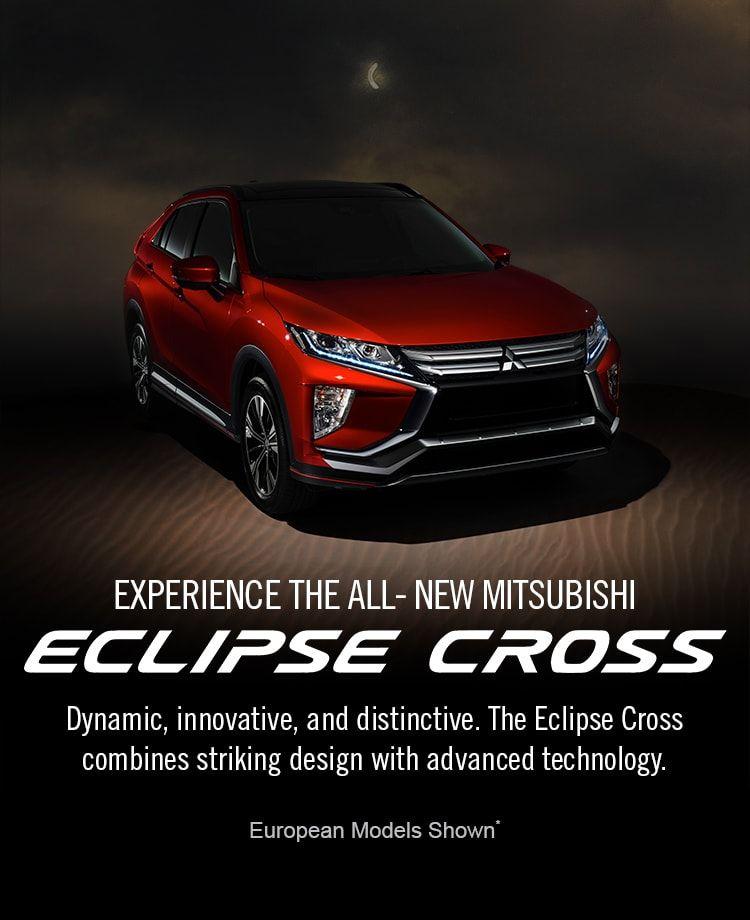 2018 Mitsubishi Eclipse Cross Crossover SUV Exterior