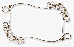 Border Card Frame Png And Vector With Transparent Background For