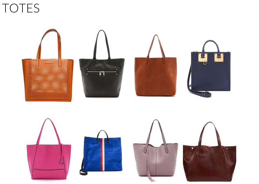 The Best Tote Bags for Work // Shop them on Keaton Row