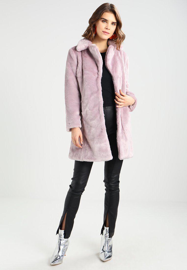 Miss Selfridge MIDI COAT Veste d'hiver lilac ZALANDO