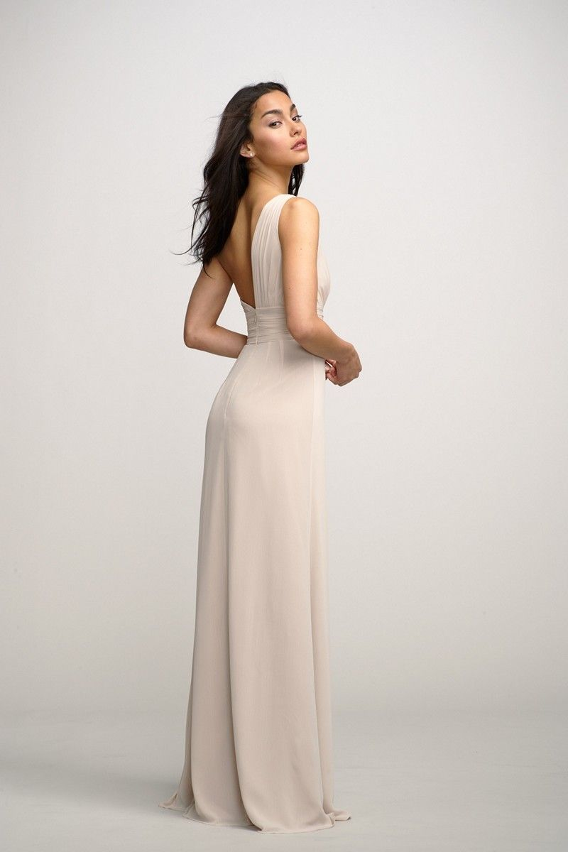 Enjoy the classical look of the Watters 2595i Tulip bridesmaid dress ...