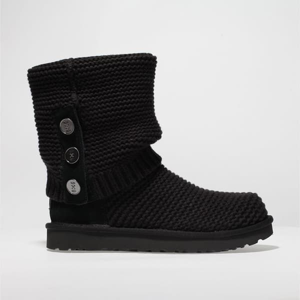 55cf1e7dd92 Ugg black purl cardy knit boots in 2019   Cool Shoes online , Womens ...