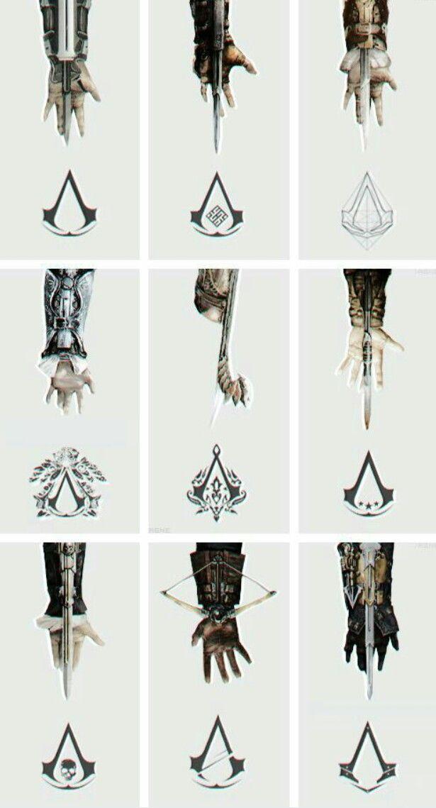 Hidden Blade Kostum Perang Desain