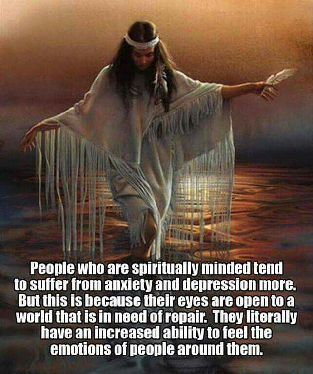 Spiritually minded.