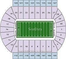 Tickets 2 Ohio State Vs Michigan State Football Tickets Sec 107 11