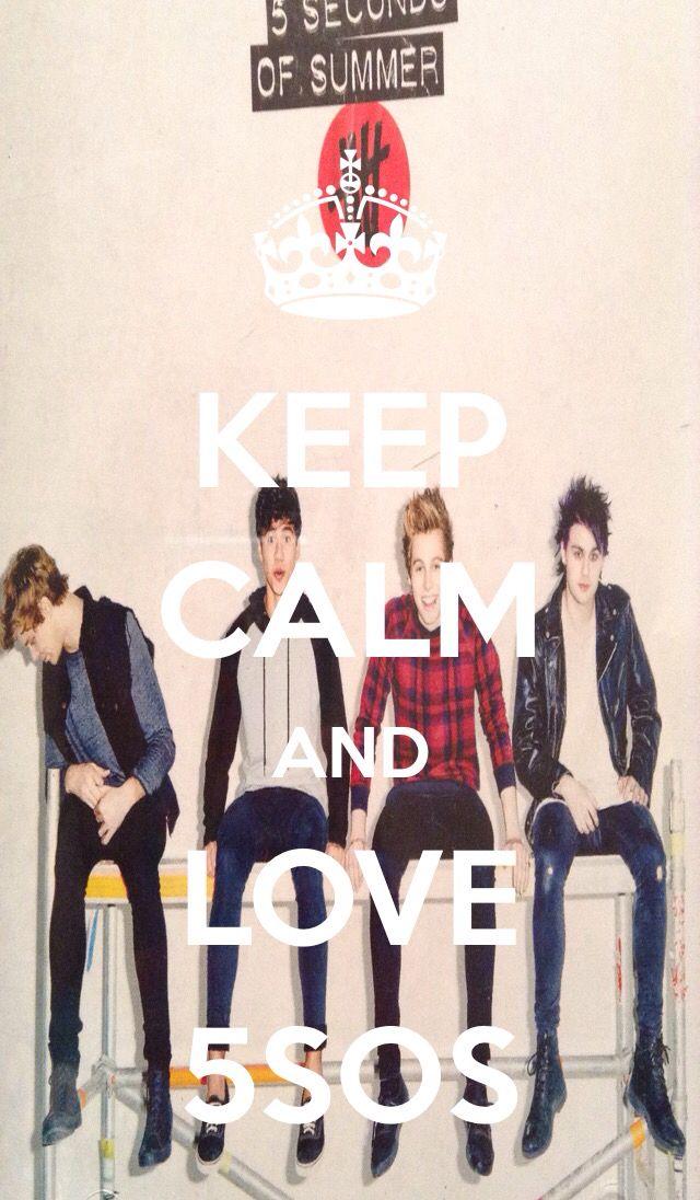 Keep calm and love 5sos