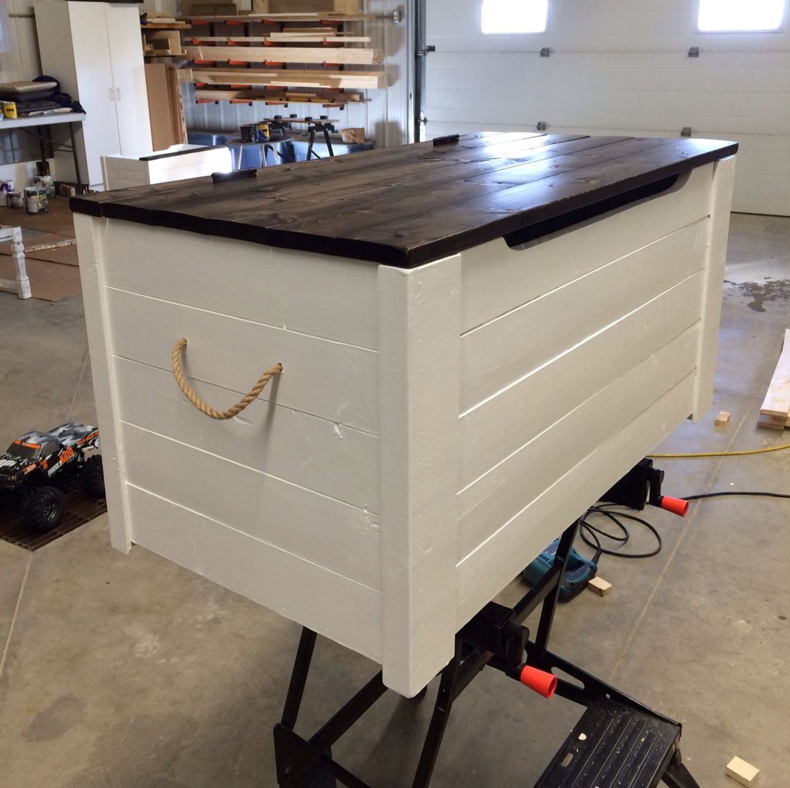So versatile hope chest toy box coffee table or seat