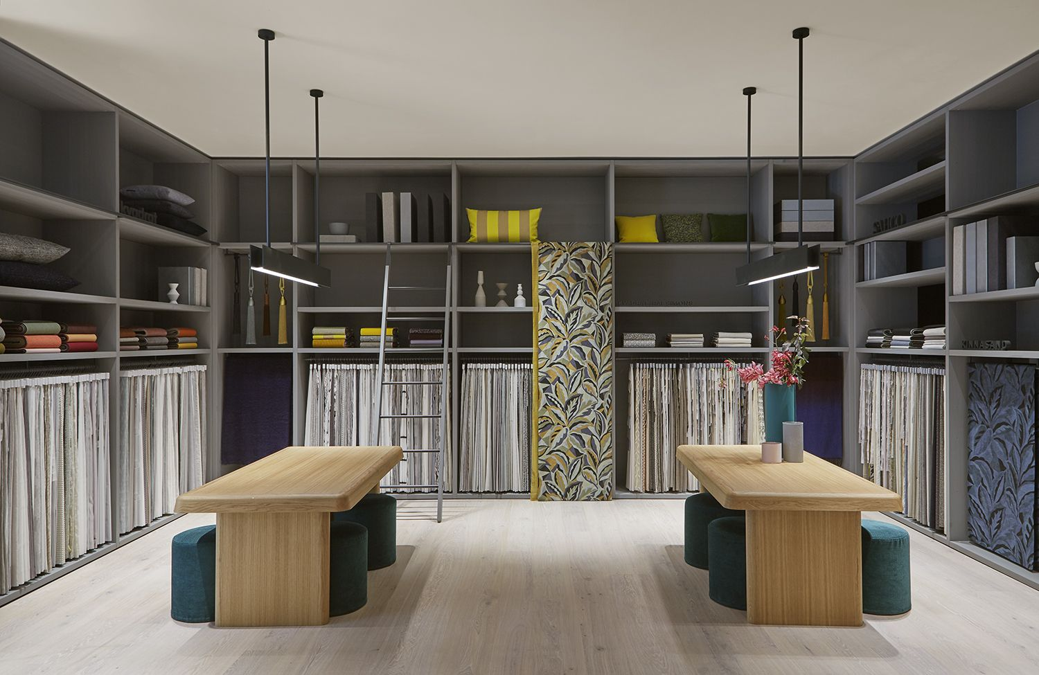 Our First Ever Residential Showroom Kvadrat At Home In Chelsea Harbour Store Design Interior Showroom Interior Design Interior Design Fabric