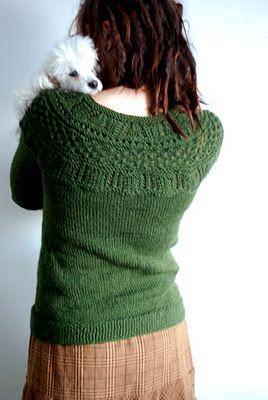 Silke Alpaca Cardigan (free pattern)