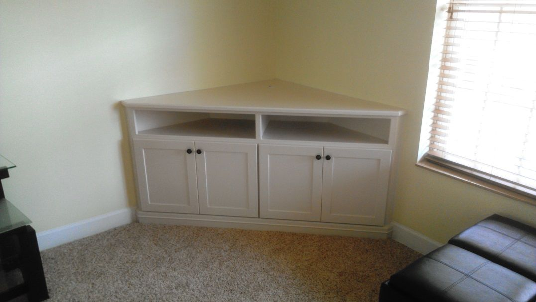 Custom Corner Cabinet For Tv And