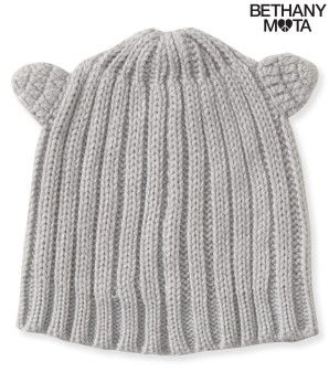 fbf24f5a630 Ribbed Cat Ear Beanie - Bethany Mota Collection